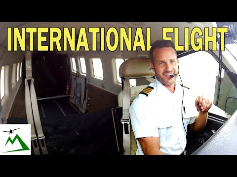 Solo International Flight over the Ocean to Australia in a Single Engine Small Airplane  Flight Vlog