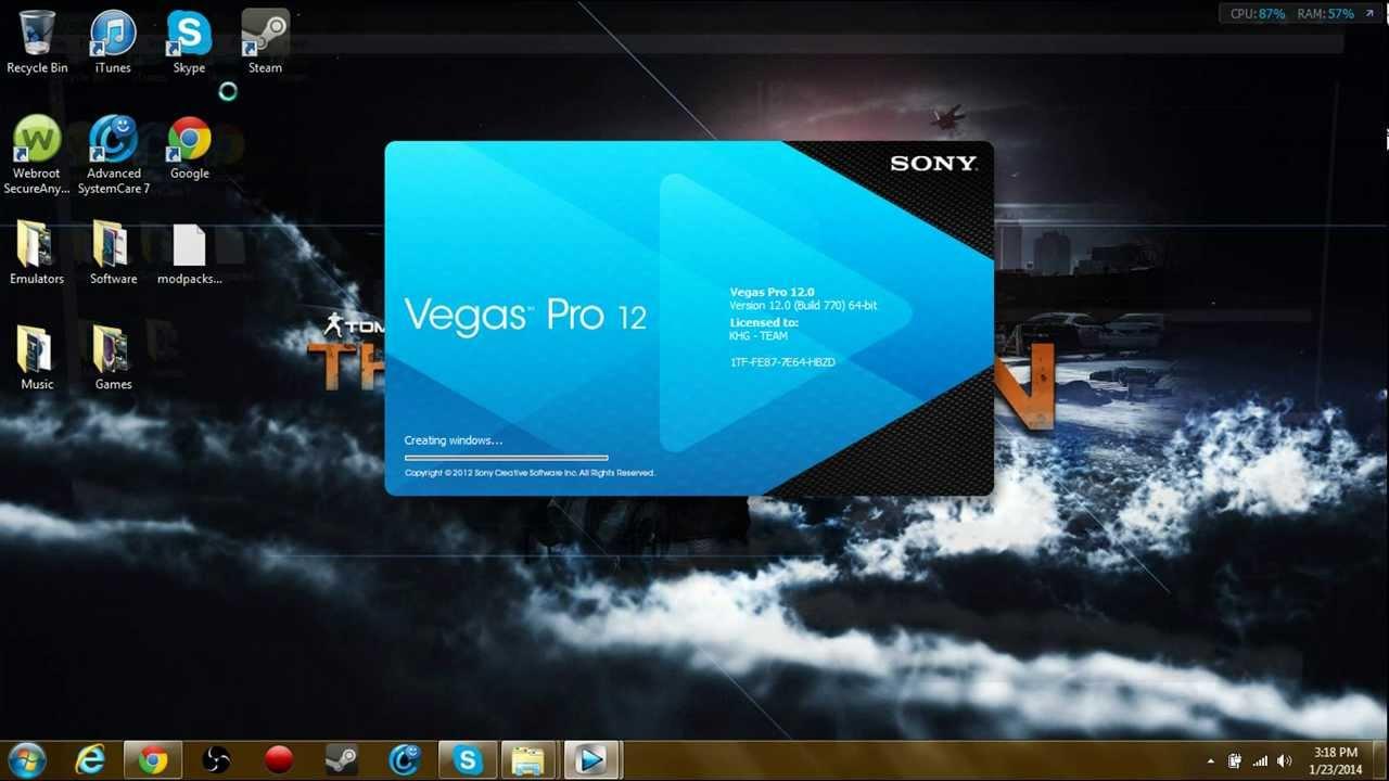 Download Sony Vegas 12