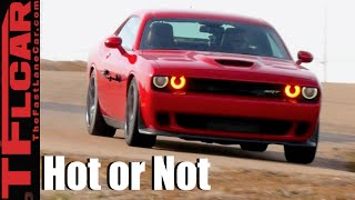 2016 Dodge Challenger SRT Hellcat Review - TFL Leaderboard Hot or Not Ep.3
