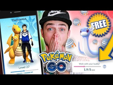 Pokemon GO *NEW UPDATE* - HOW TO GET FREE CANDIES! (Buddy Pokemon)