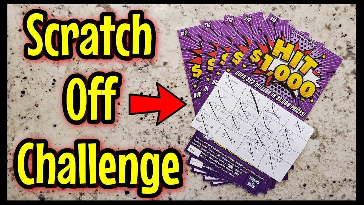 Scratch Off Challenge!! Thanks Josh Tehonica