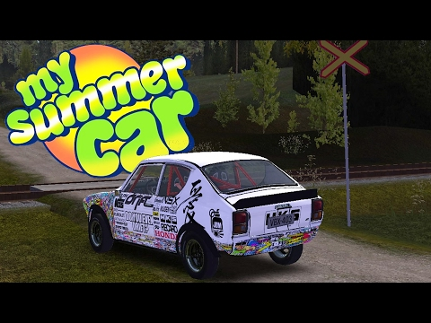 WHERE THE TRAIN TRACKS LEAD, Finnish Teleportation Trick - My Summer Car Gameplay Highlights Ep 43