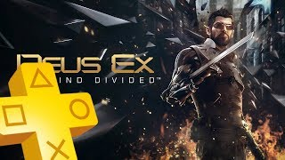 Deus Ex Mankind Divided PS PLUS January Free Game Until February 2018