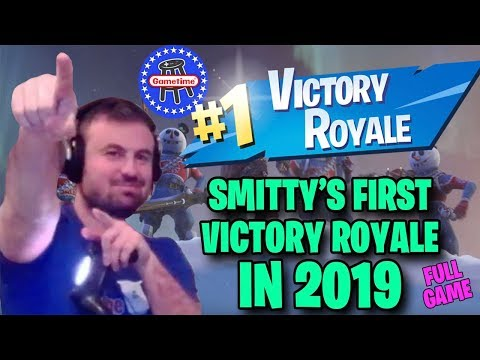 Smitty Gets His First Victory Royale of 2019 (Full Game)