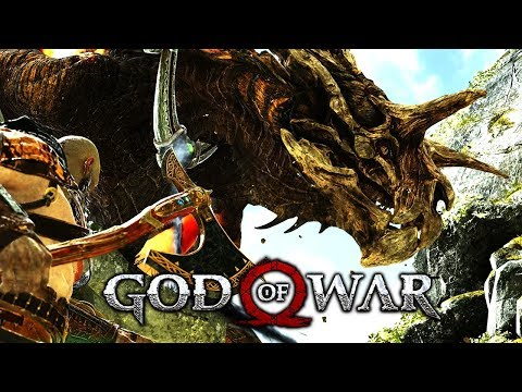 God Of War #21 - Gunnr, Die Valkyrie Bezwingen & Den Drachen Fafnir Befreien! | LP Deutsch PS4 Pro