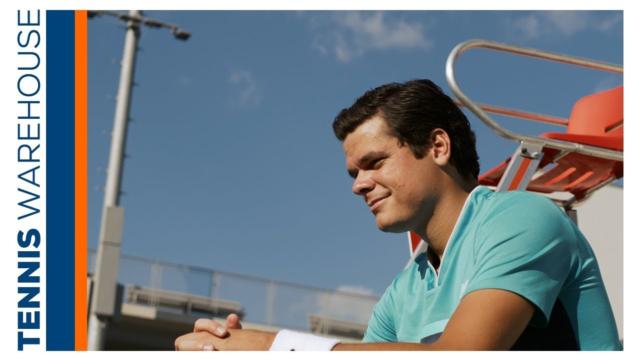 Worn by Milos Raonic, the New Balance Lav at Tennis Warehouse!
