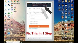 How To Fix - origin online login is currently unavailable!! Windows 10-8-7