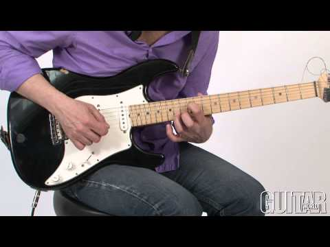 "All that Jazz w/ Wayne Krantz - March 2013 - Unconventional Blues & How to Play ""Jeff Beck"""