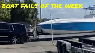 This boat is way too big | Boat Fails of the Week