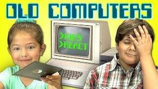 KIDS REACT TO OLD COMPUTERS(Thanks to our friends at