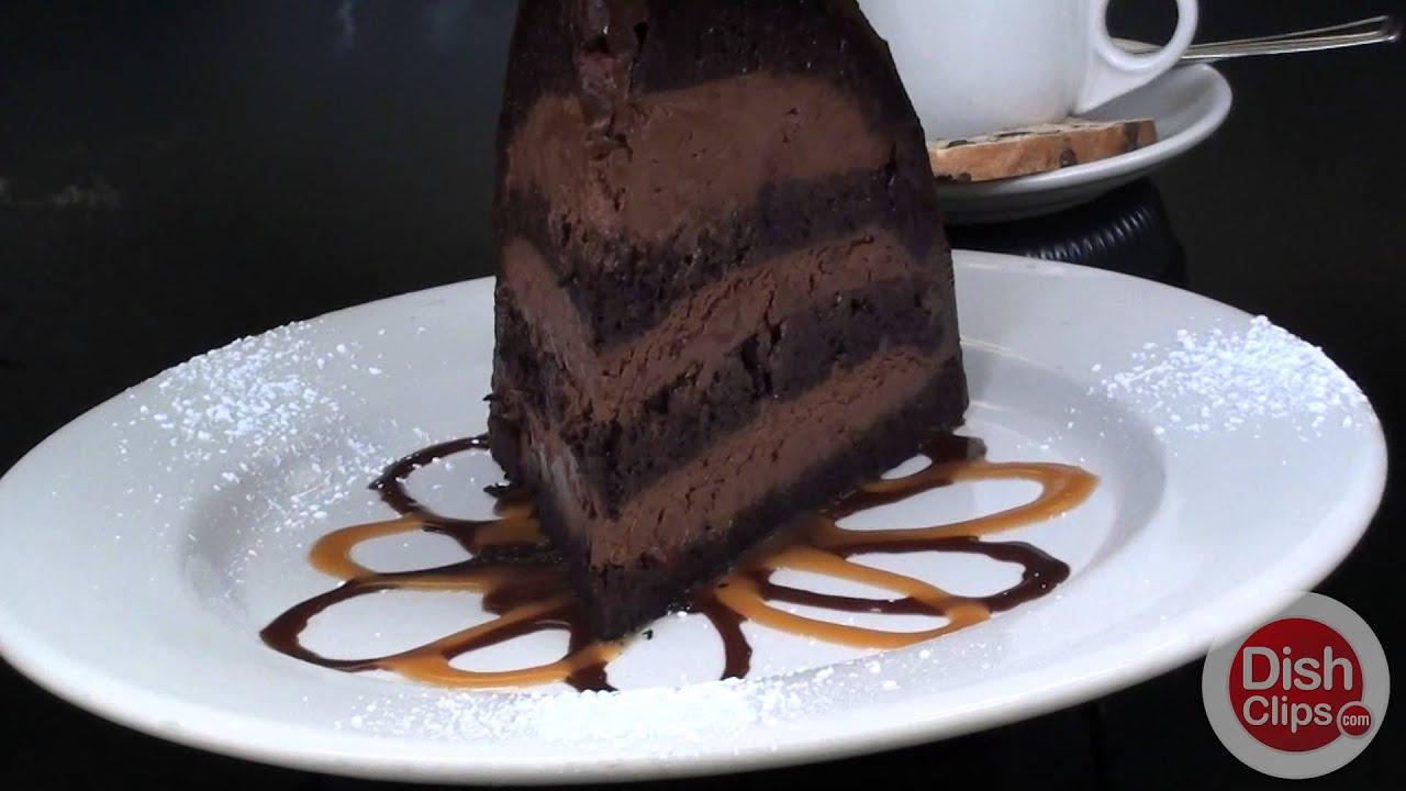 Chocolate Zuccotto Cake