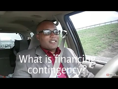What is financing contingency?