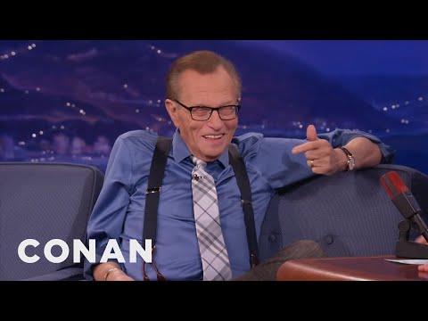 """Larry King Demands Conan Freeze His Corpse"""