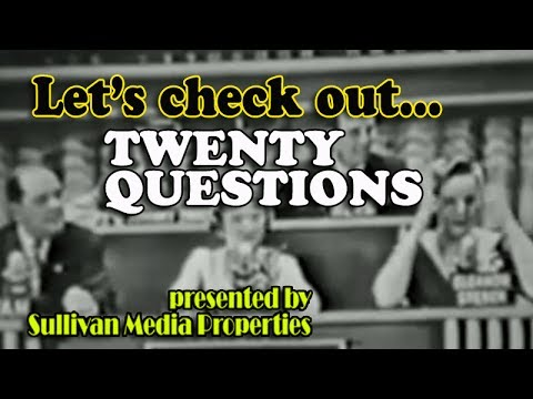 Twenty Questions    a classic TV encore