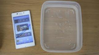 Sony Xperia M2 Aqua - Water Test (4K)