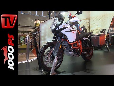KTM 1090 Adventure R 2017 - Neuerungen und Technische Daten