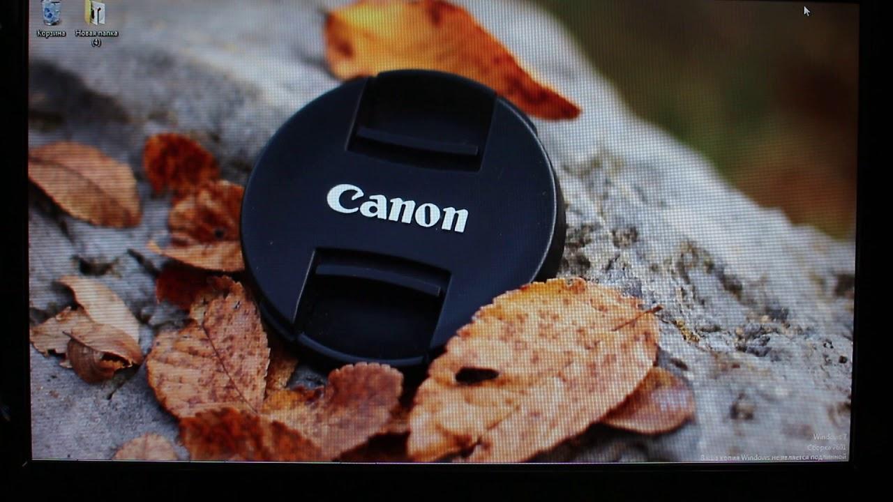 Как узнать пробег на фотоаппарате Canon (количество срабатываний затвора)