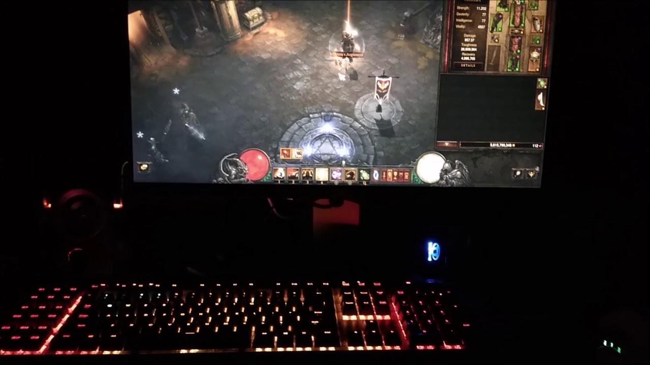 Corsair K95 RGB CUE Integration With Diablo 3