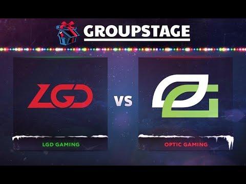 LGD vs OpTic - DOTA Summit 8 Game 3