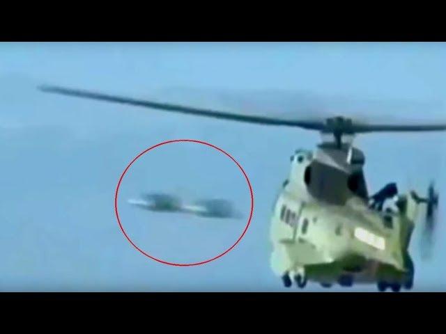 Un canal de noticias graba dos ovnis durante una operación de rescate en la costa francesa