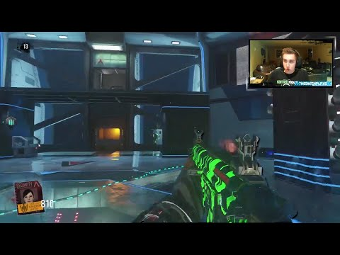 """FIRST GAME"" - Descent Exo Zombies Gameplay/Walkthrough (Call of Duty Advanced Warfare)"
