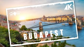 Flying over Budapest   4K Cinematic Drone Video