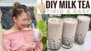 DIY MILK TEA (TIPID & EASY) #TeaFaye
