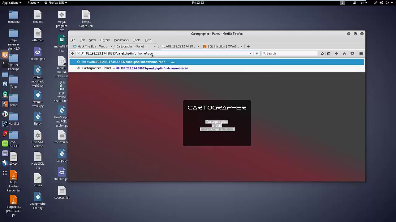 Cartographer Web challenges hackthebox eu Part2