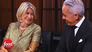 Chopped | Martha Stewart is a New Judge on Chopped! | Food Network thumbnail