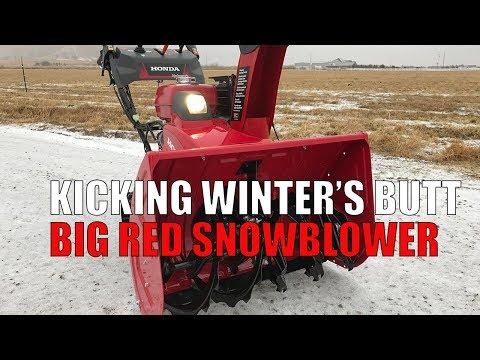 Review Honda Hss1332at Snower Red Came Saw Kicked