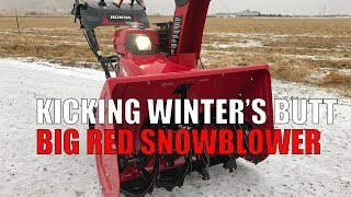 Review: Honda HSS1332AT Snowblower - Big Red Came, Saw, Kicked Butt