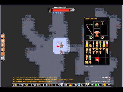 Rogue's tale roguelike   Silver mage 05 up to lvl 17