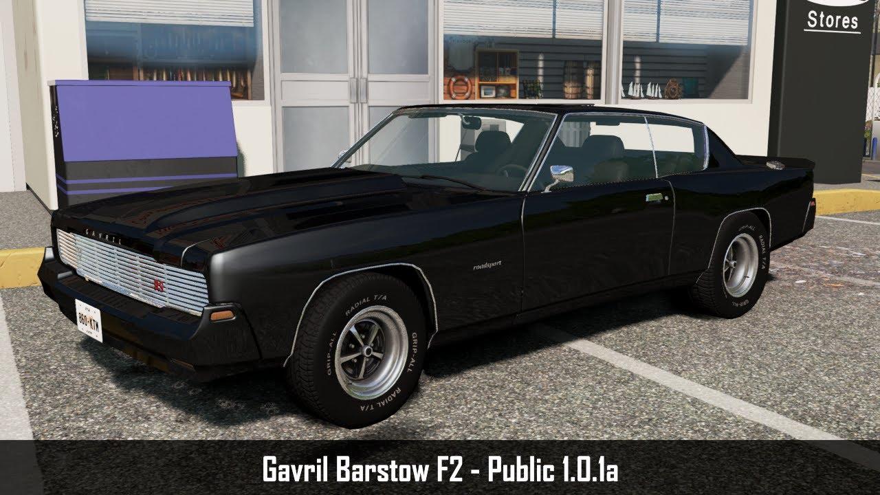 Mod Update: Gavril Barstow F2 Public 1.0.1a