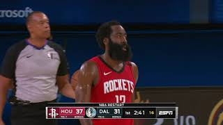 Dallas Mavericks vs Houston Rockets | July 31, 2020