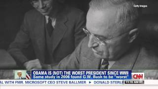 Obama is (not) the worst president ever