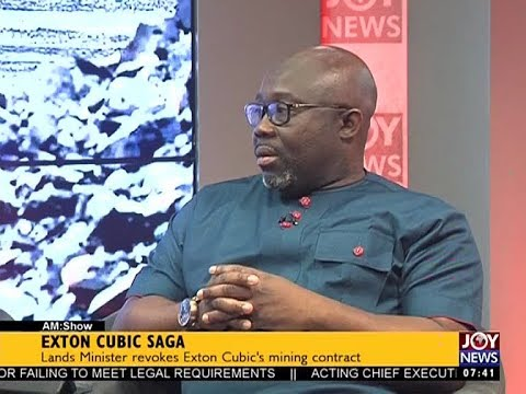 Exton Cubic Saga - AM Talk on JoyNews (5-9-17)