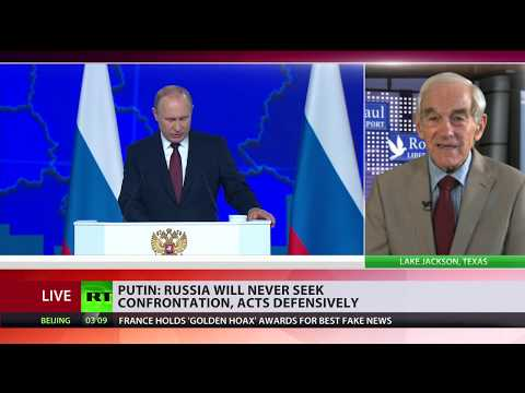 Putin's response to US withdrawal from INF Treaty is reasonable – Ron Paul