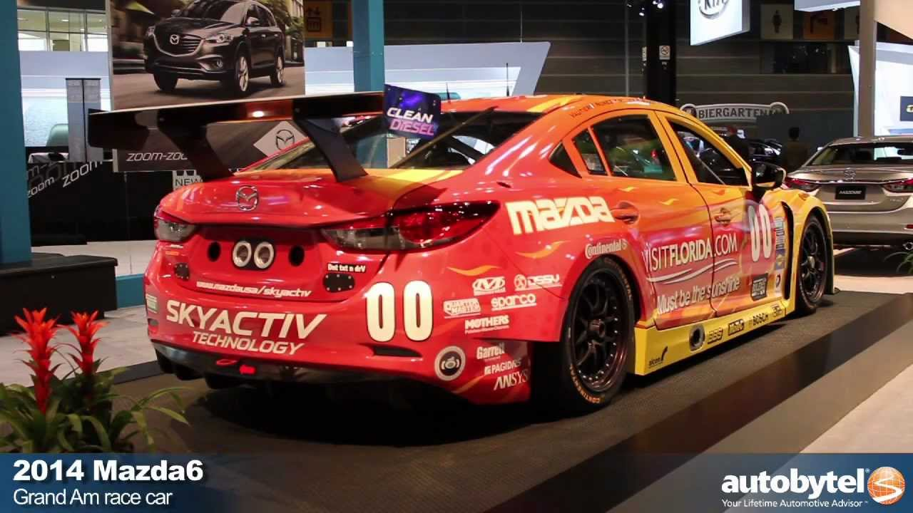 2014 Mazda6 Skyactiv D Grand Am Race Car From Rolex 24 At Daytona