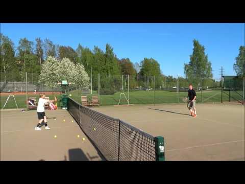 Ville Lahtinen, Age 11, Date 19.5.2016, Talin Tennis Center, Helsinki