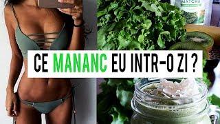 MANANC DOAR MANCARE DE CULOARE VERDE TIMP DE 24 DE ORE ! GREEN FOOD CHALLENGE [HD]