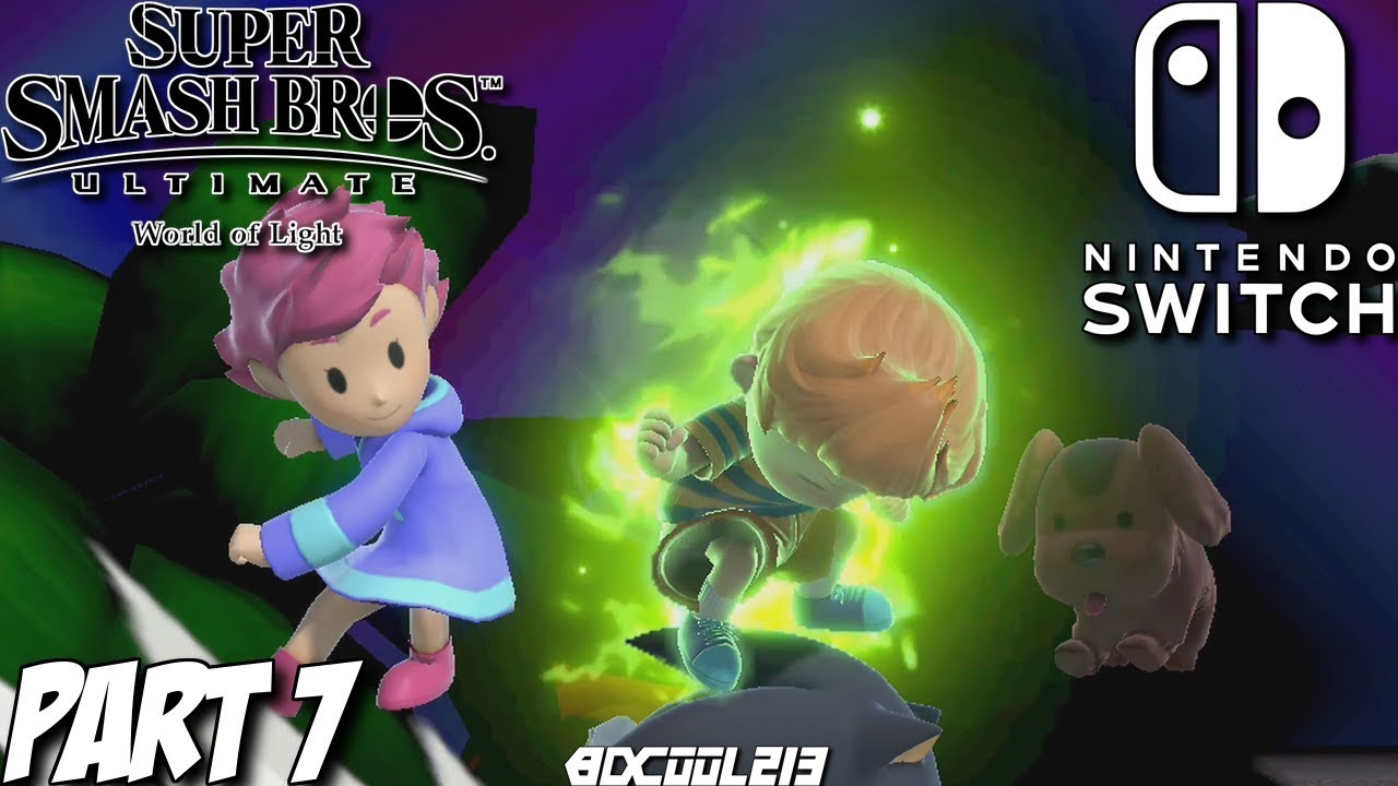 Super Smash Bros Ultimate World Of Light Gameplay Walkthrough Part