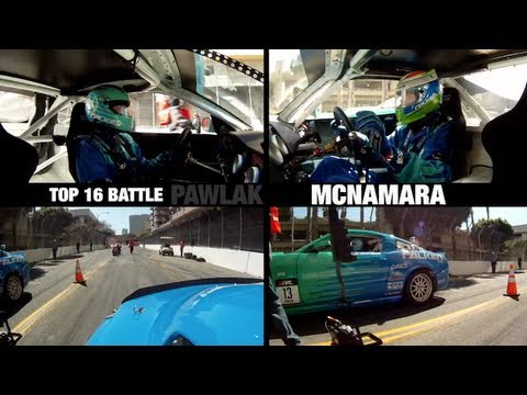 2011 Formula Drift Round 1 - JTP Dominates Long Beach