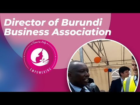 Director of Burundi Business Association