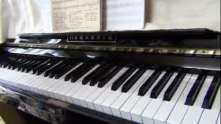 カズンさんの『冬のファンタジー』をピアノで弾いてみました。 曲名:冬...
