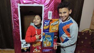 مرام تبيع في ماكينة الحلويات الممتعة والللذيذة !!