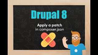 Apply a Drupal 8 module patch in composer.json