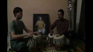 Basic tabla lesson suraj nirwan