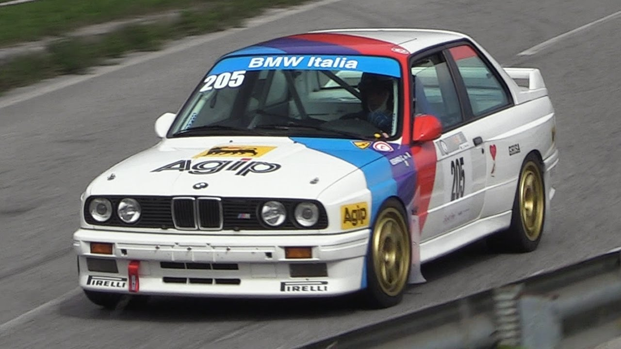 Bmw M3 E30 Gr A Sound In Action On Hillclimb Youtube