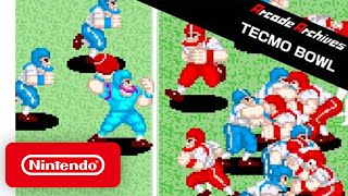 Arcade Archives: TECMO BOWL - Launch Trailer - Nintendo Switch