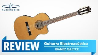 guitarra electroacstica ibanez ga5tce